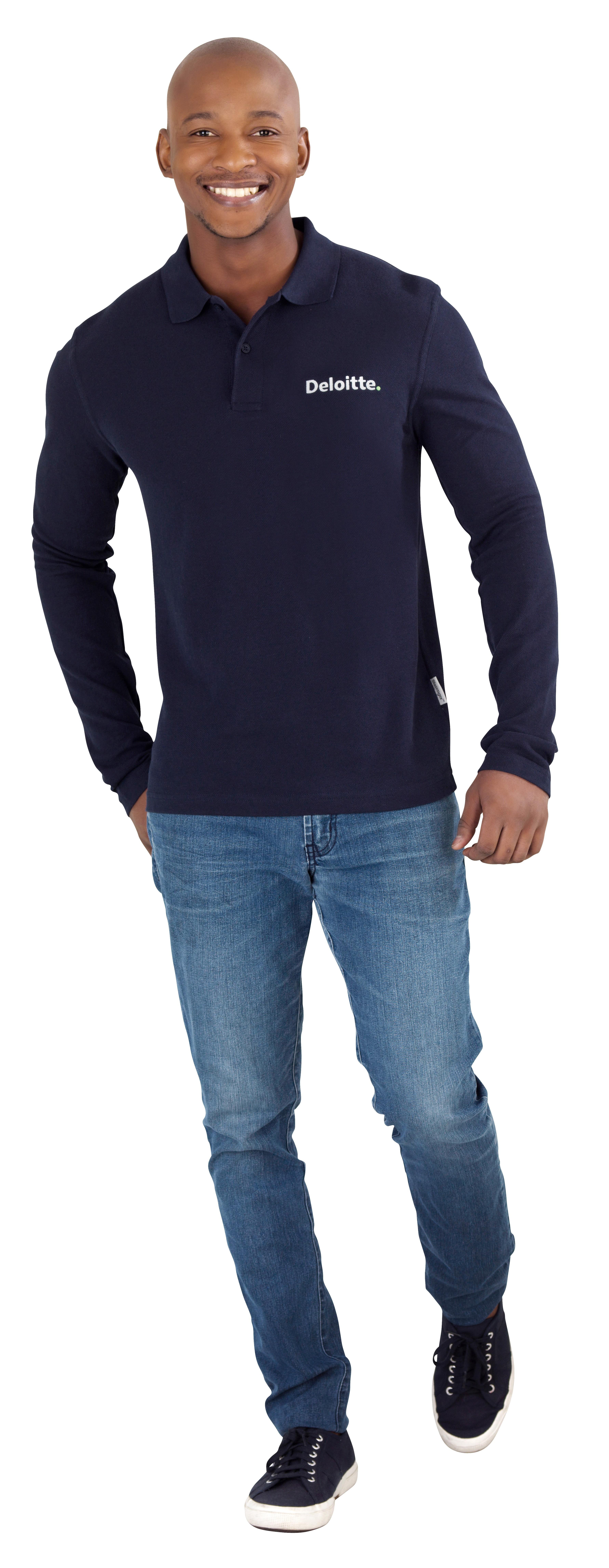 Slazenger Zenith Mens Long Sleeve Golf Shirt Slaz 3200