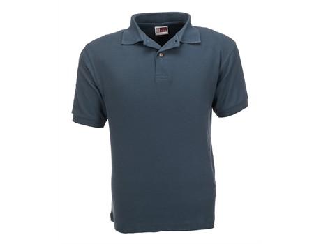 US Basic Mens Boston Golf Shirt in baby blue Code BAS-803