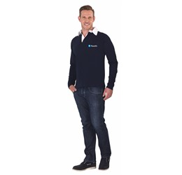 Golfers - US Basic Brisbane Mens Long Sleeve Golf Shirt