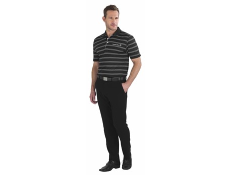Cutter and Buck Cutter And Buck Hawthorne Mens Golf Shirt in black Code CB-5800