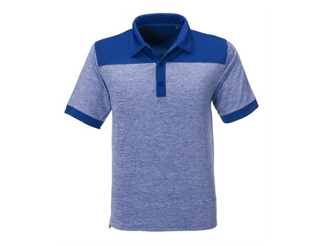 Gary Player Mens Baytree Golf Shirt in blue Code GP-7456