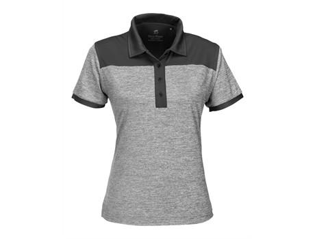 Gary Player Ladies Baytree Golf Shirt in Black Code GP-7457