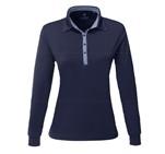 Ladies Long Sleeve Pensacola Golf ShirtNavy
