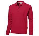 Mens Long Sleeve Zenith Golf Shirt Red