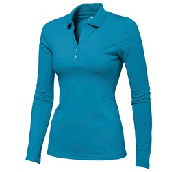 Golfers - Slazenger Zenith Ladies Long Sleeve Golf Shirt