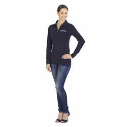 Golfers - Slazenger Zenith Ladies Long Sleeve Golf Shirt