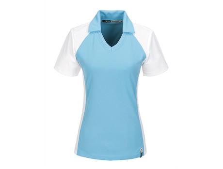 Slazenger Ladies Grandslam Golf Shirt in Aqua Code SLAZ-3221