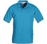 Slazenger Crest Mens Golf ShirtAqua